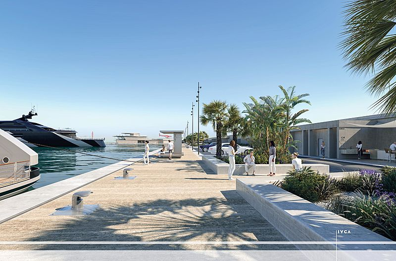 Port Vauban restoration project