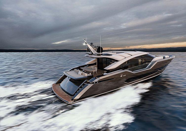 AB 80 yacht exterior design