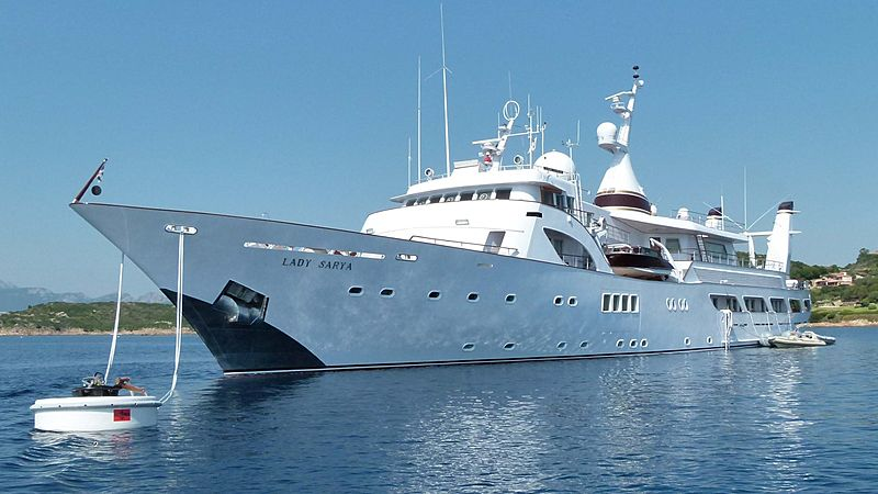 LADY SARYA yacht NCA