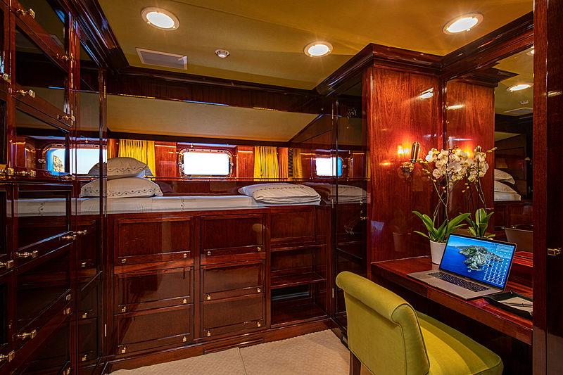 Mikado yacht interior