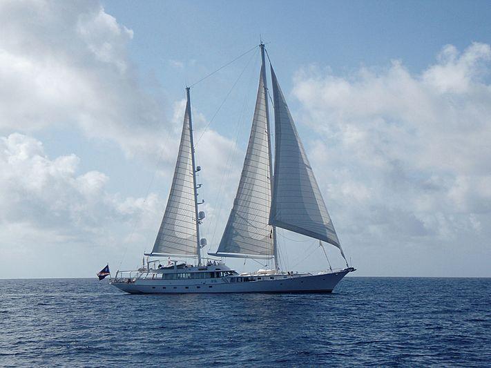 Mikado yacht sailing