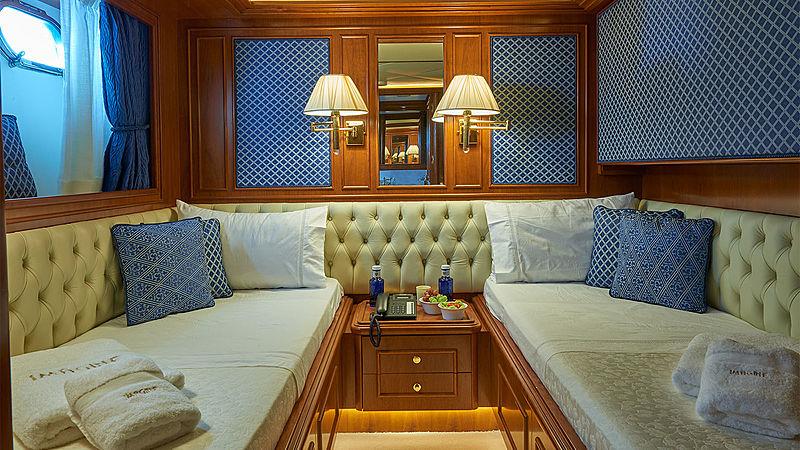 Imagine yacht stateroom