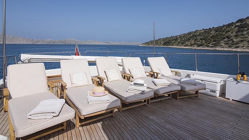 Imagine yacht aft deck