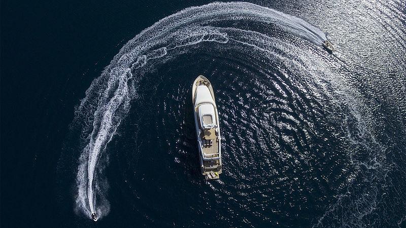 Imagine yacht aerial
