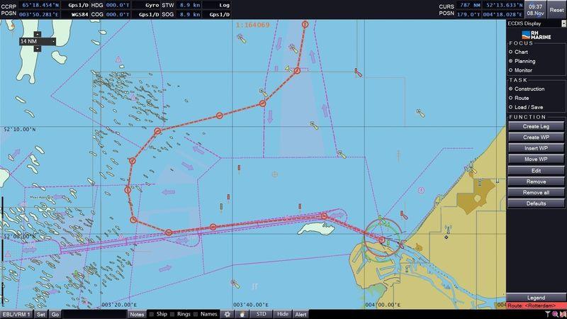 RH Marine Rhodium Chart