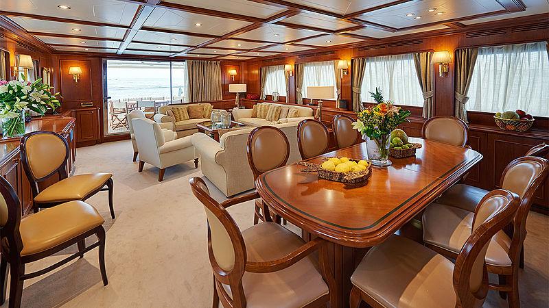 Imagine yacht saloon