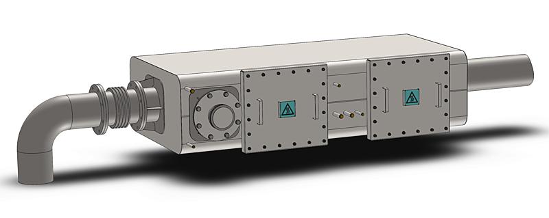 Emigreen DPF system 3D model