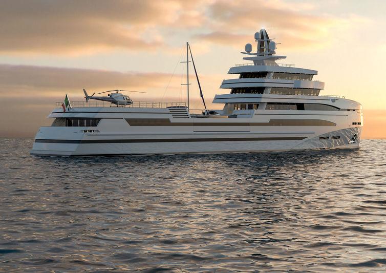Rosetti Superyachts 85m Concept