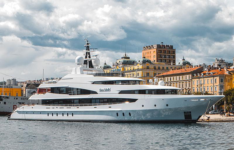 Sea Walk yacht by Oceanco in Rijeka, Croatia