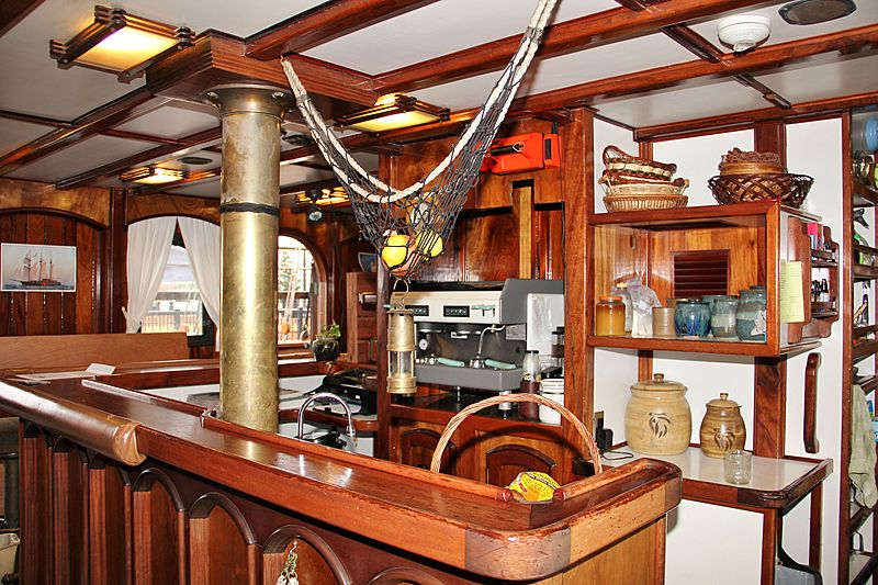Peacemaker yacht interior