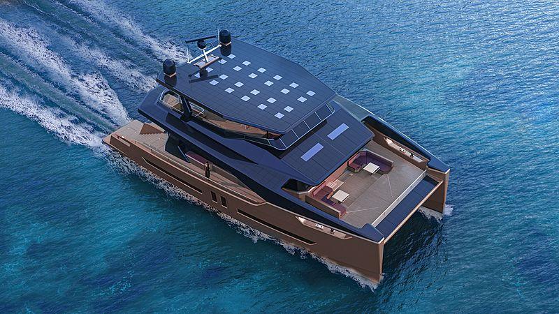 OceanEco 90 yacht by Alva Yachts exterior design