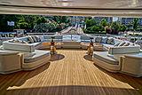 O'Pari yacht aft deck