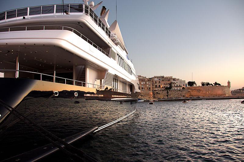 Samar yacht in Malta