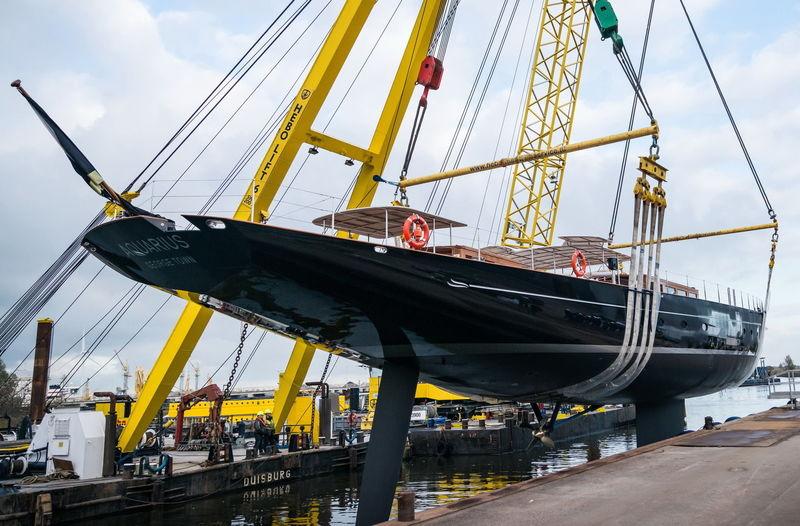 Aquarius launch in Vollenhove