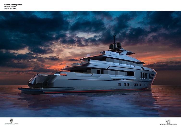 Cantiere delle Marche EXP 42 yacht concept