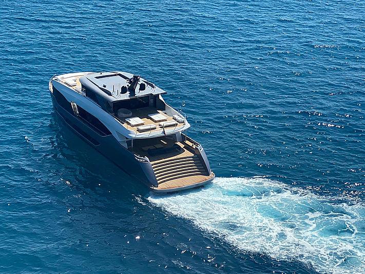 Exuma yacht cruising