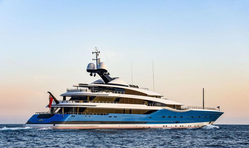Madame Gu outside Monaco