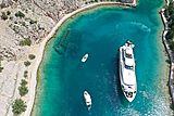 Indigo Star I yacht aerial