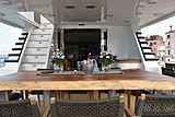 Indigo Star I yacht deck