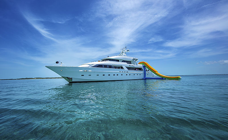 Island Heiress yacht anchored