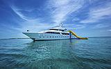 Island Heiress yacht anchored