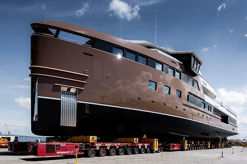 La Datcha yacht launch in Vlissingen
