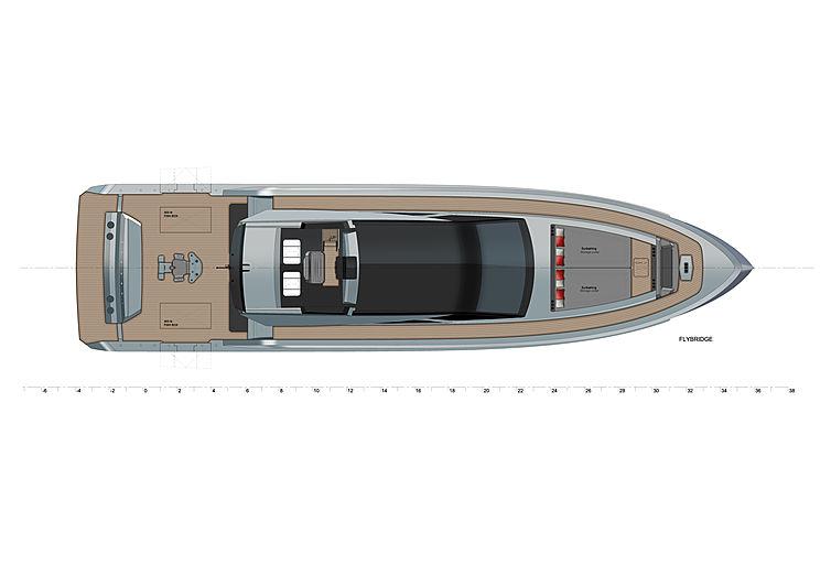 Vanquish VQ80 SportFish yacht layout