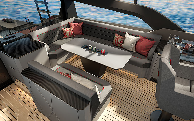 Vanquish VQ80 SportFish yacht exterior design
