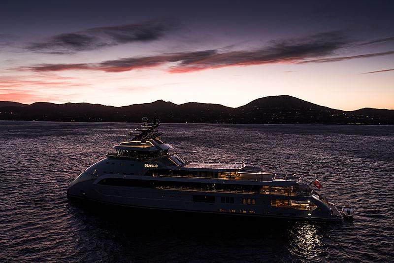 Olivia O yacht by Ulstein in St Tropez