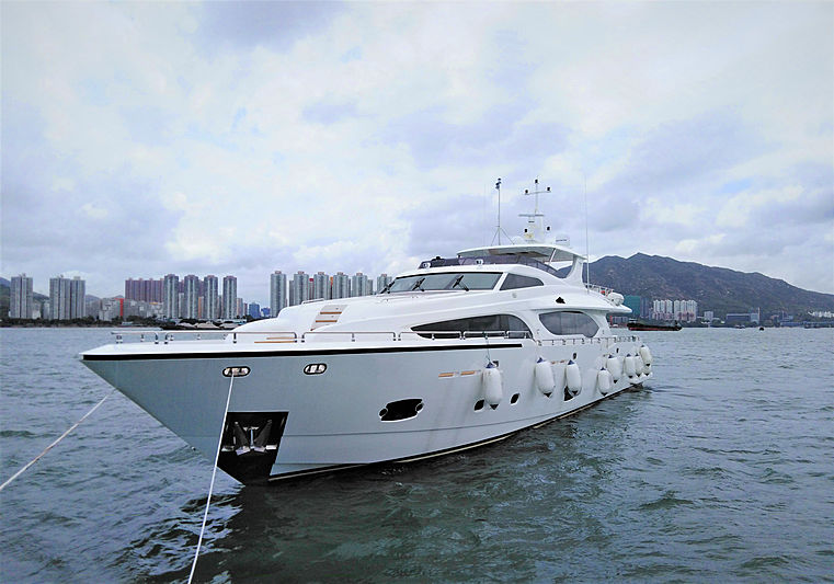 Heysea Asteria 108/10 yacht at Hong Kong