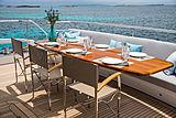 Sea Story yacht main aft deck
