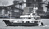 Sandalphon yacht at Hook of Holland