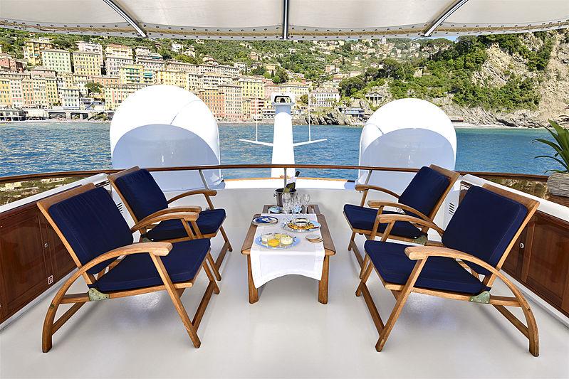 Atlantic Goose yacht deck