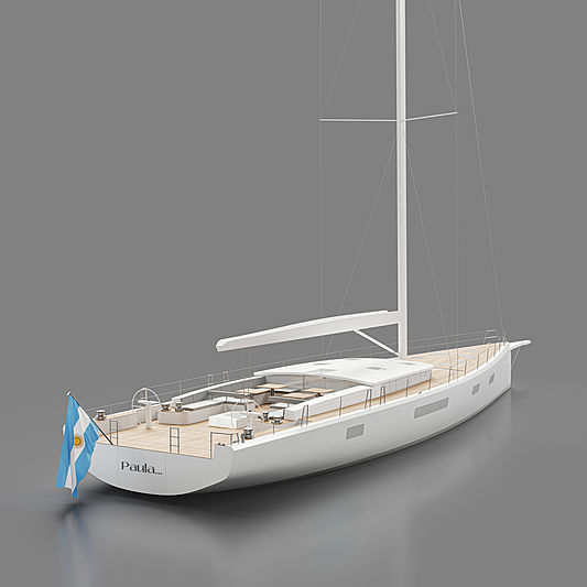 YYachts Y9 yacht Paula exterior design