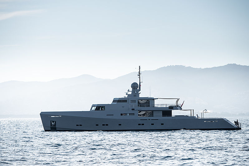 Cyclone yacht by Tansu in Cannes