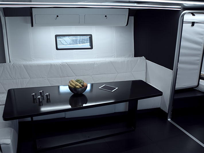 Nahita yacht interior
