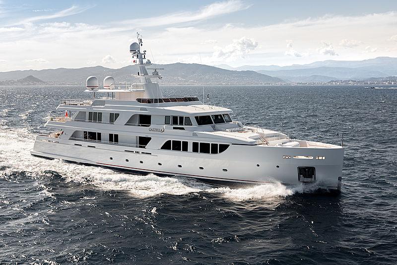 GAZZELLA II yacht Codecasa