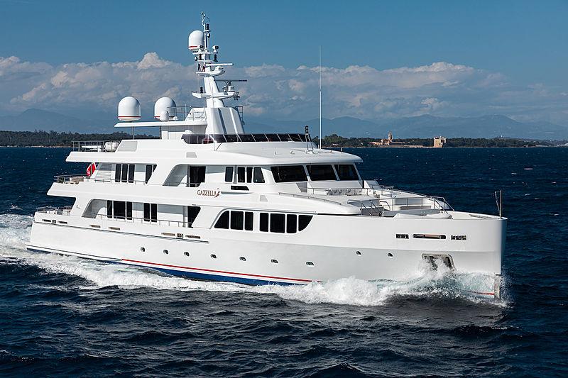 Gazzella II yacht cruising