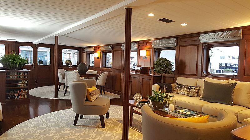 Trafalgar yacht interior