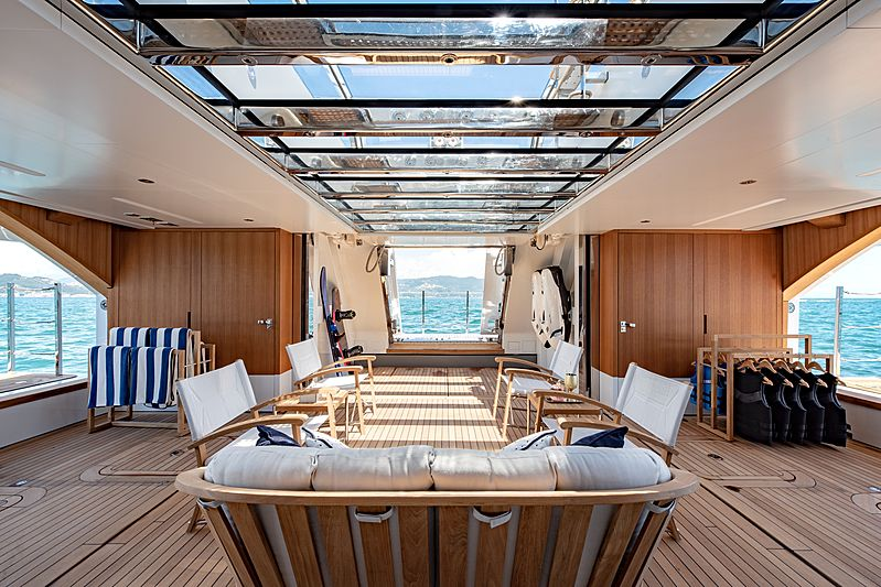 Lady Lena yacht beach club