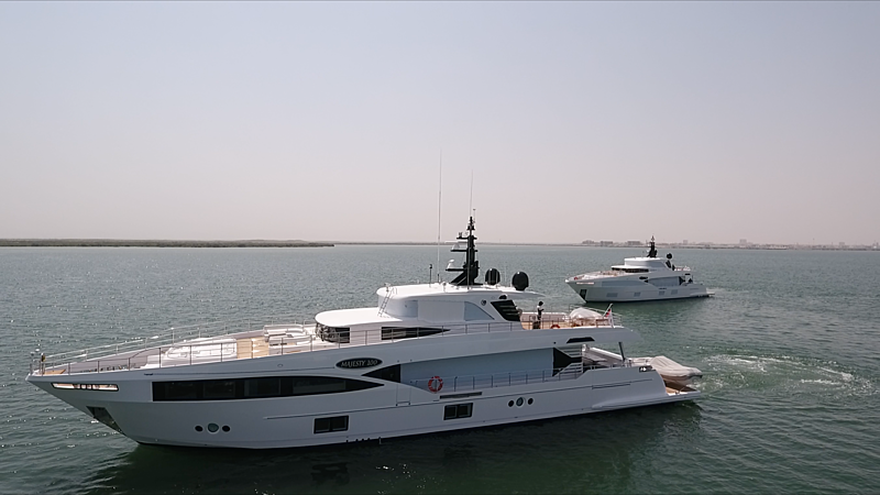 HARMONY yacht Gulf Craft