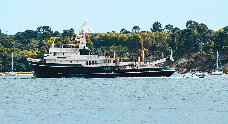 Seawolf yacht in Poole, UK