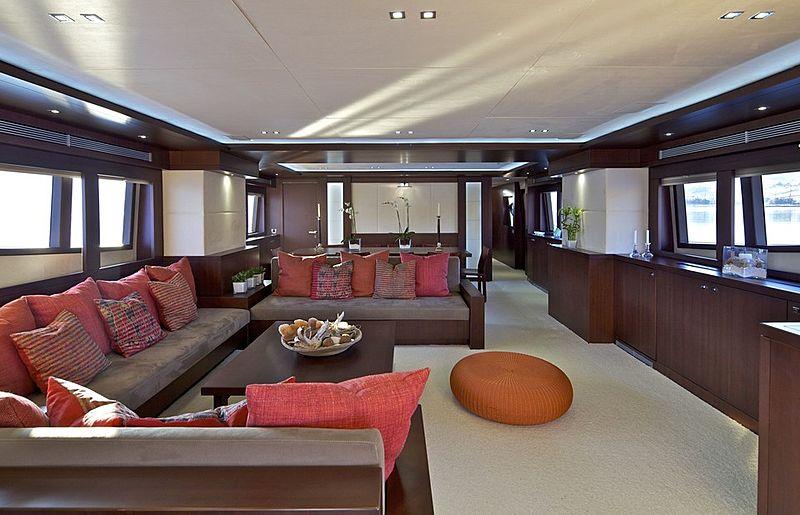 Sanjana yacht saloon
