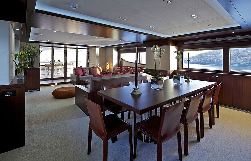 Sanjana yacht dining table