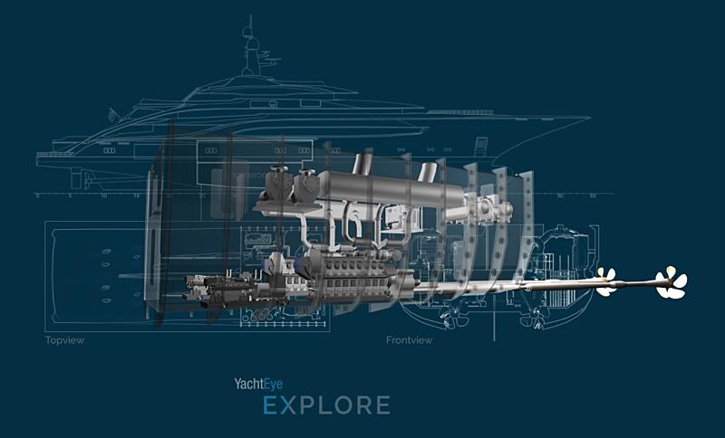 SYT YachtEye 3D Engine Room