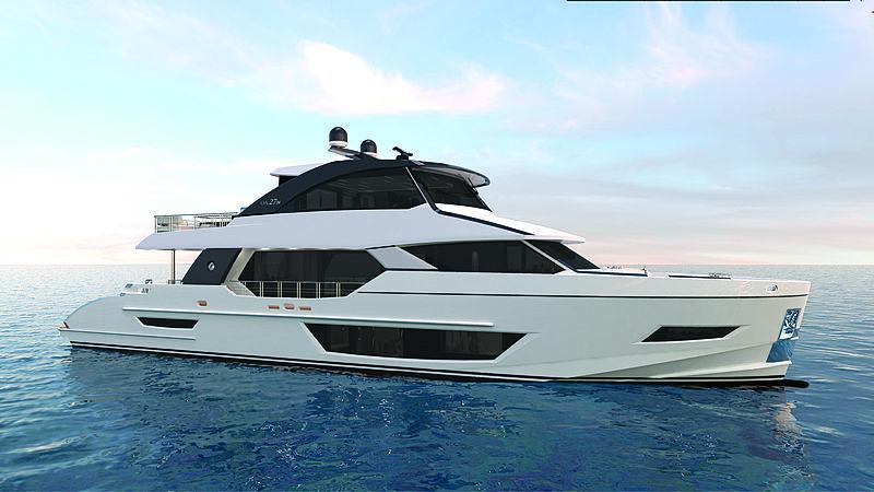Ocean Alexander 27 Explorer yacht exterior design