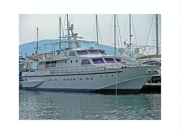 IRVIK yacht Baglietto