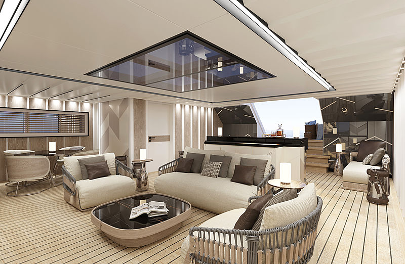 CRN 138 yacht interior rendering