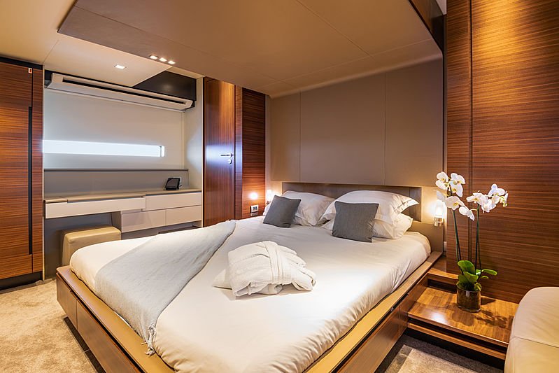 Quasar yacht stateroom