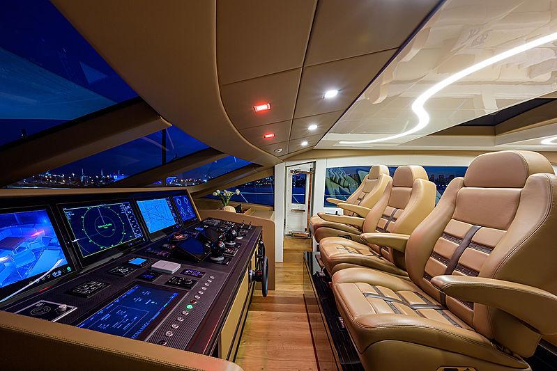 Dopamine yacht wheelhouse